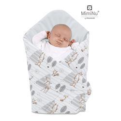 Rożek niemowlęcy 75x75 cm usztywniany KOKOS LAS-449